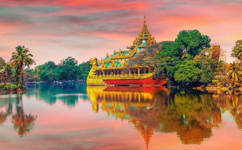 Teaching in the heart of Theravada Buddhism: Yangon